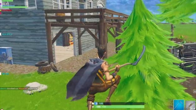 Fortnite A Fortnight In My 40s In Battle Royale Bbc News