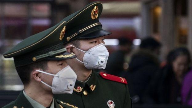 Военные в Китае