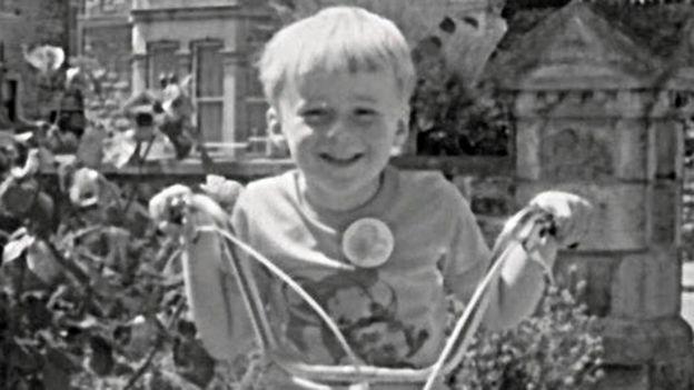 Matt, con 8 años antes de que el abuso comenzara.