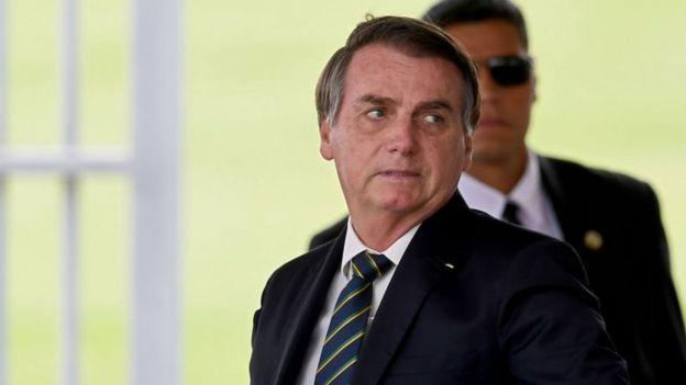 Retrato de Jair Bolsonaro