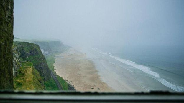 okyanus manzarası