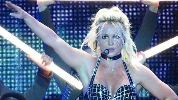 Britney Spears At Pride