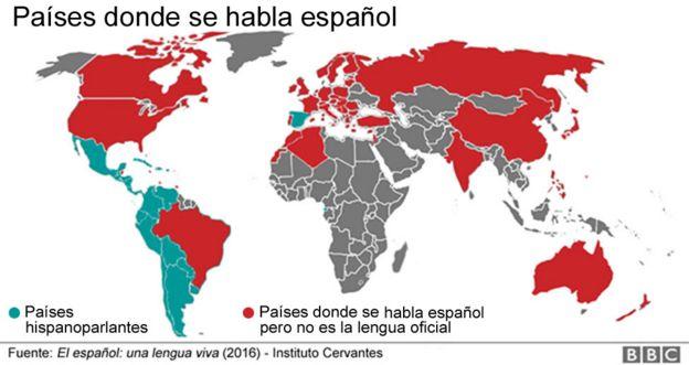 en qu pases se habla espaol fuera de espaa y amrica latina bbc mundo