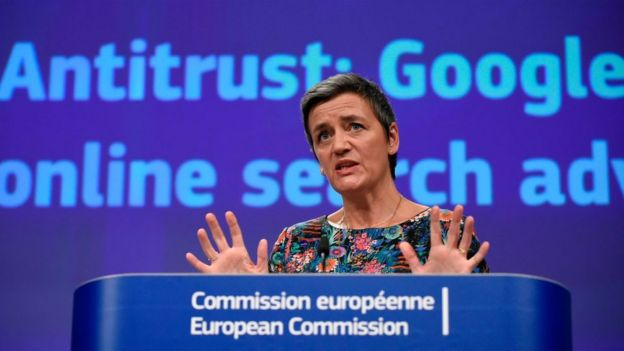 EU Commissioner of Competition Margrethe Vestager