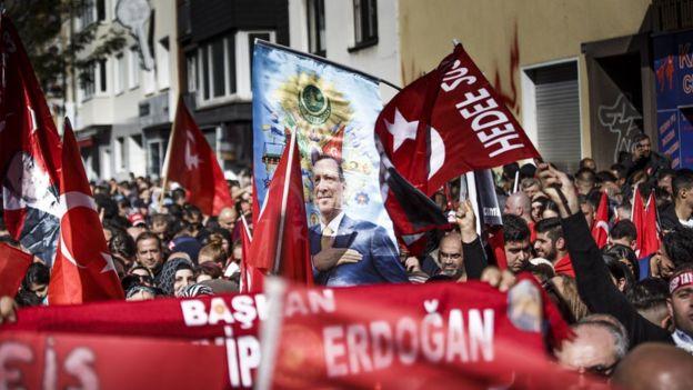 erdogan destek