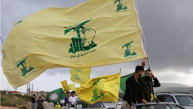 Hezbollah supporters in Marjayoun, Lebanon (file photo)