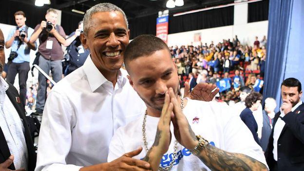 Obama y J Balvin