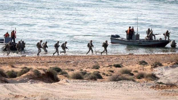 مانور نیروی زمینی سپاه در جزیره قشم