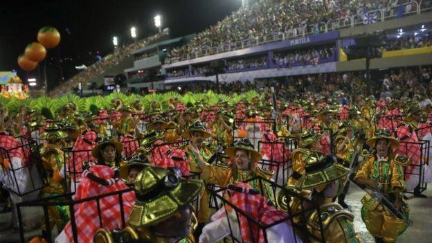 В конце февраля в Бразилии прошел карнавал