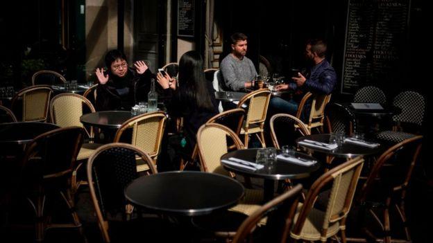 Café na França