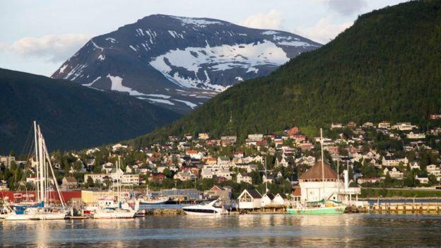 Tromso, en Noruega