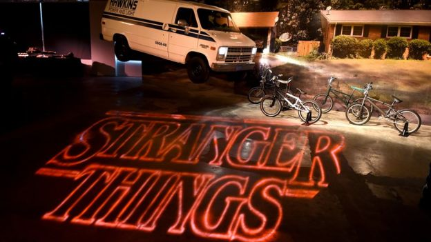 Promo de la serie Stranger Things