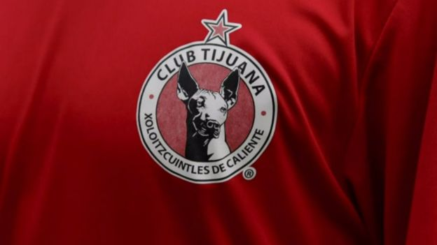 Logo del Club Tijuana Xoloitzcuintles de Caliente