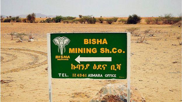 Mine in Eritrea