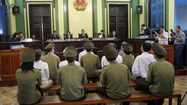 Một tòa án tại Việt Nam