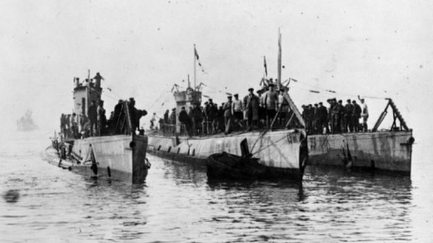 U-boats in Harwich