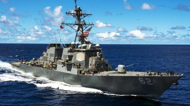 Foto de archivo del USS Fitzgerald