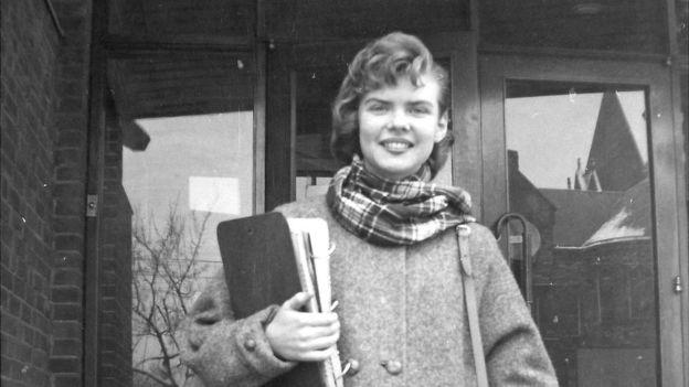 Vaira en la Universidad de Toronto, en 1957