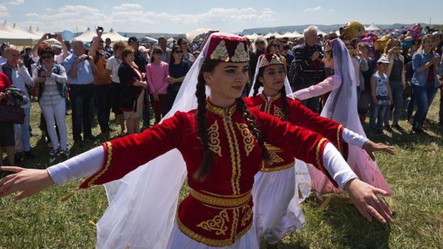 Kırım Tatarlarının Kırım'daki bir etkinliği