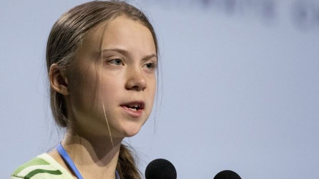 Greta berbicara di konferensi perubahan iklim COP25