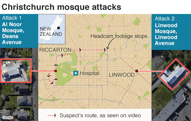 Christchurch Mosque Detail: Christchurch Shootings: Death Toll Risen