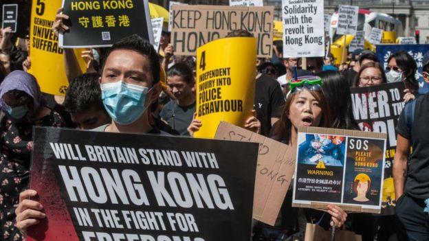 Người biểu tình Hong Kong: 'Bây giờ hoặc không bao giờ'