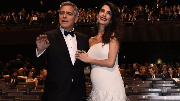 George And Amal Clooney Welcome Twins Ella And Alexander Bbc News