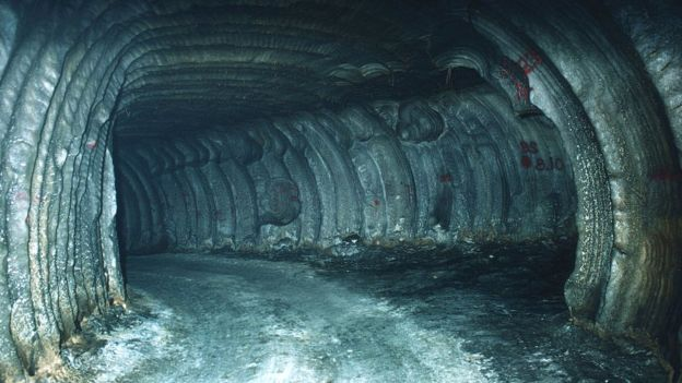 Skladište za naftu u Luizijani - slana pećina