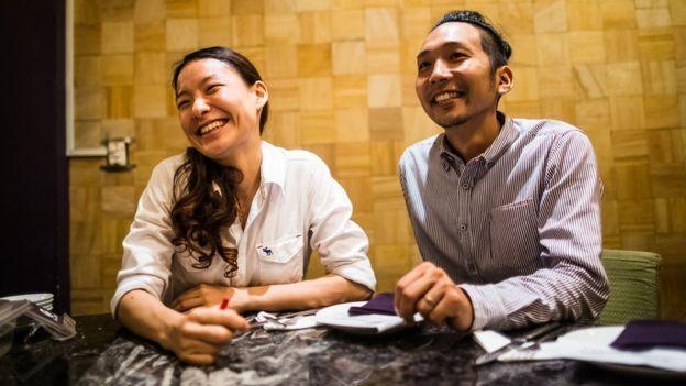 Ông Yosuke Masuko mở cửa hàng cùng vợ mình là Sanae, người hỗ trợ về nhân sự và tiếp thị.