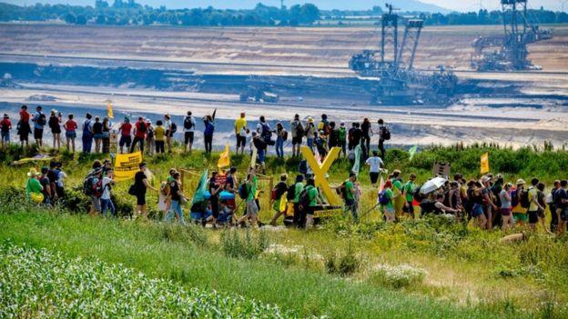 Protesto em 22 de junho por fechamento de mina de carvão na Alemanha