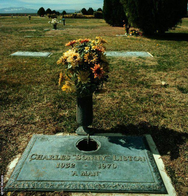 Sonny Liston's grave