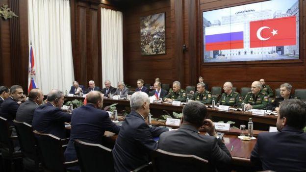 Rusya'da Menbic görüşmeleri