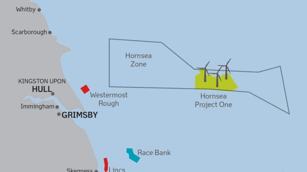 Worlds biggest wind farm to be built off East Yorkshire coast