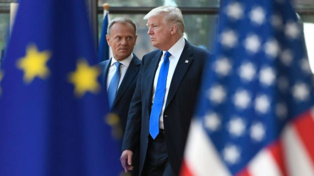 Trump ve Tusk