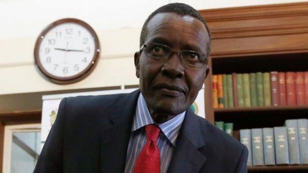 Jaji mku wa Kenya David Maraga