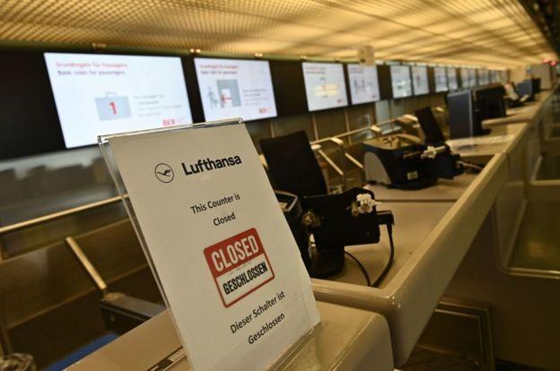 Стойка Lufthansa
