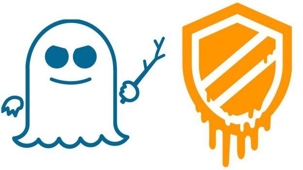 logos de Spectre y Meltdown