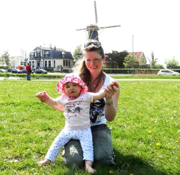 Julie and Alexa in Holland
