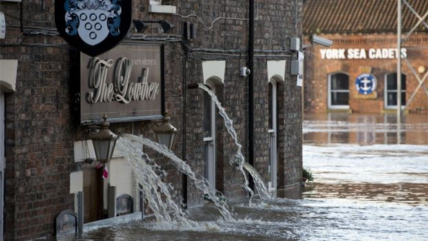 nightmare flooding hits york after rivers overflow bbc news