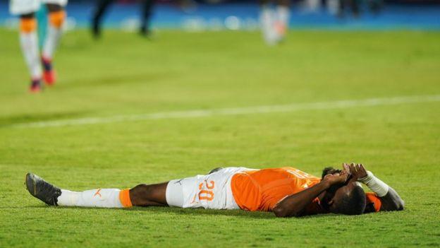 La Côte d'Ivoire a été éliminée en Quarts de finale