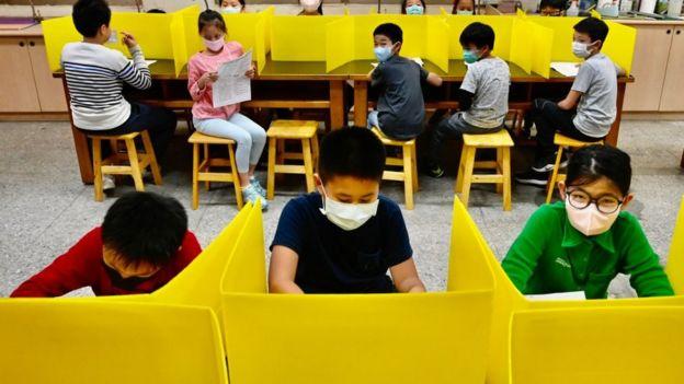 Escuela en Taiwán