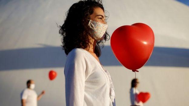 Manifestação pelos mortos da pandemia