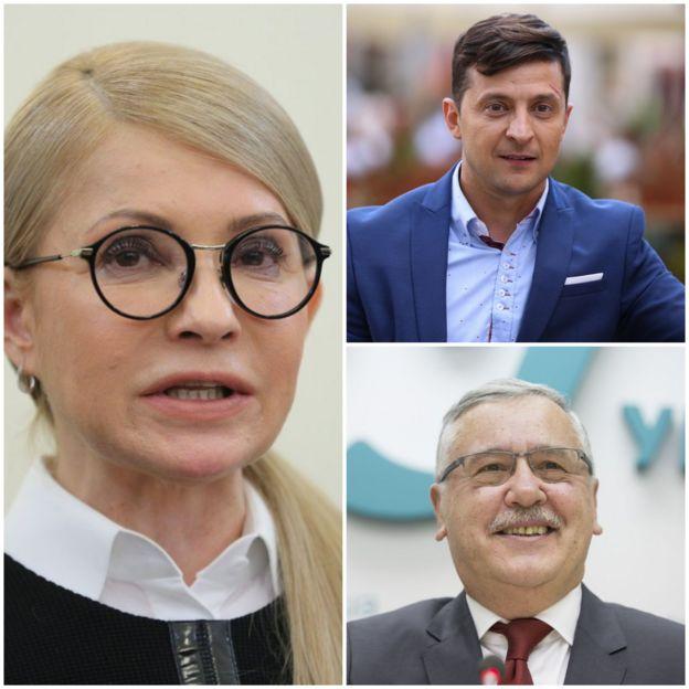 Гриценко, Тимошенко і Зеленський