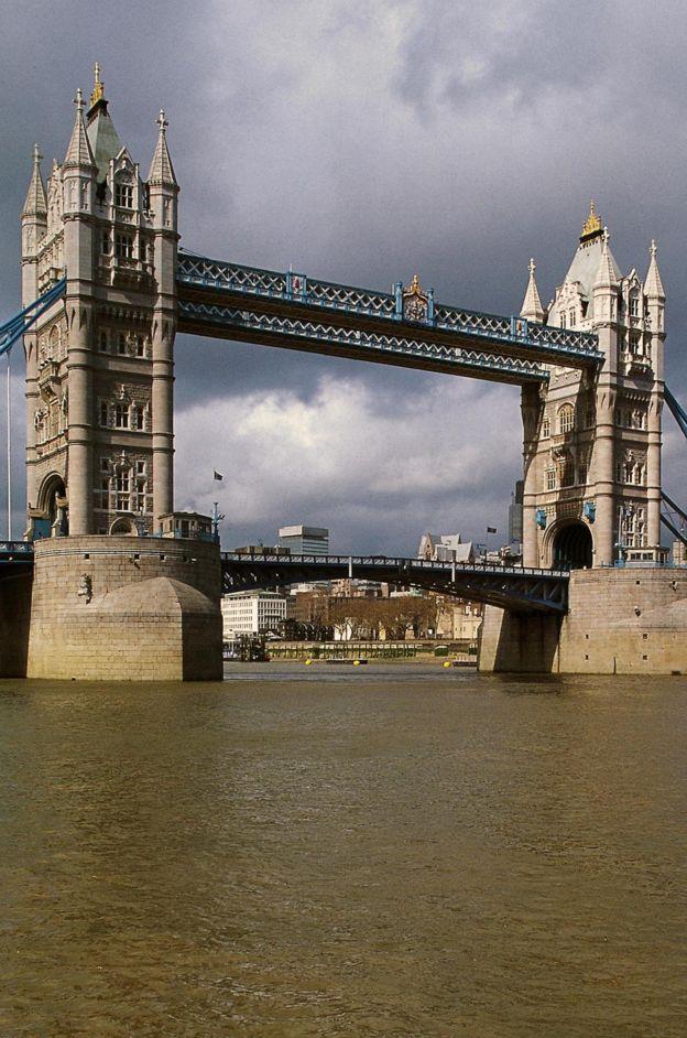 El puente de la torre de Londres.