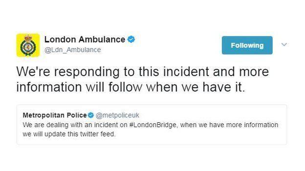 پلیس لندن میگوید در حال رسیدگی به این واقعه است و اطلاعات بیشتر را به محض دسترسی، منتشر میکند