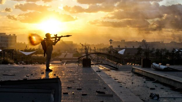 لیبی از زمان سقوط قذافی دچار جنگ داخلی بوده است