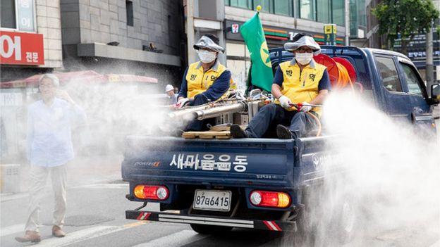 Дезинфекция в Сеуле