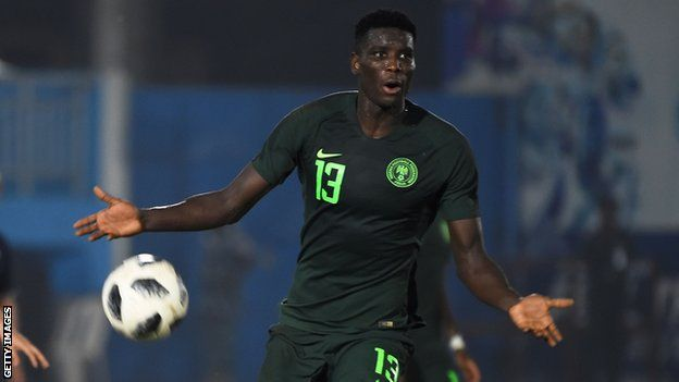 The spotlight in Nigeria falls on Paul Onuachu after his 10 second goal -  BBC Sport