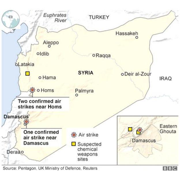 Bản đồ Syria