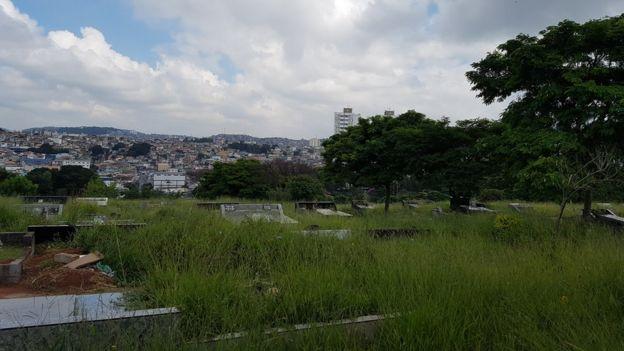 Fotografía cementerio de Vila Nova Cachoeirinha.